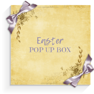 SOLD OUT! POP UP BOX Easter