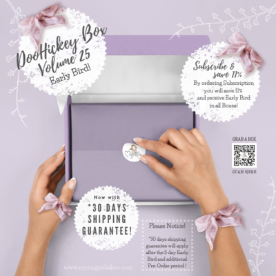 SOLD OUT! DooHickeyBOX Volume 25 { Bella Notte }