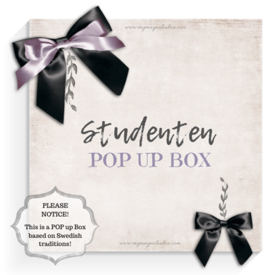 SOLD OUT! POP UP BOX Studenten!