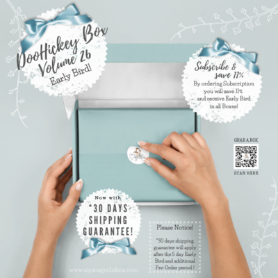 SOLD OUT! DooHickeyBOX Volume 26 {Under The Sea}