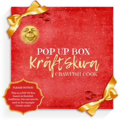 SOLD OUT! POP UP BOX! Kräftskiva {Crawfish Cook}