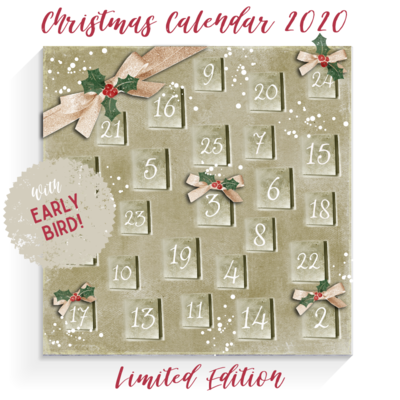 SOLD OUT!! Christmas Calendar Box 2020