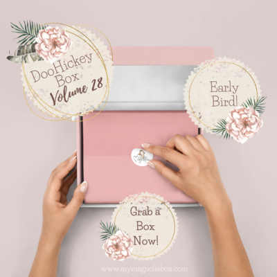 DooHickeyBOX Volume 28 {Forever Flowers}