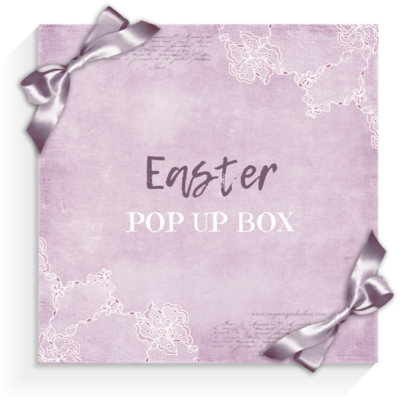 SHIPPED! It's a POP! POP UP BOX Easter