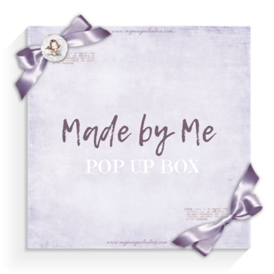 SOLD OUT! POP UP BOX Made by Me