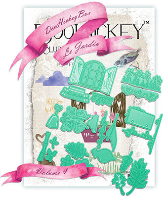 SOLD OUT! MYDooHickeyBOX™ Vol.4 {Le Jardin}