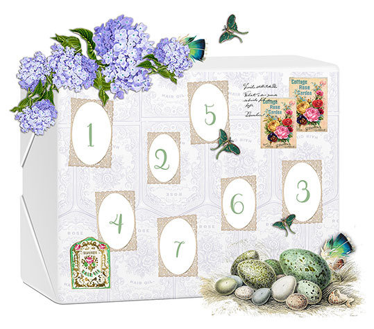 SOLD OUT! Easter Calendar Box 2018