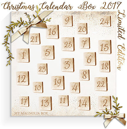 SOLD OUT! Christmas Calendar Box 2017
