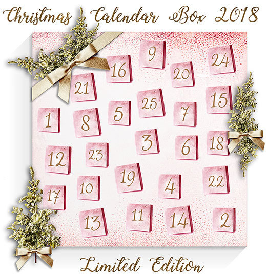 SOLD OUT! Christmas Calendar Box 2018