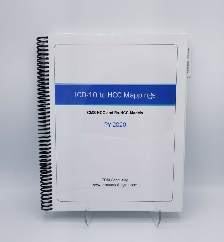 2020 CMS ICD-10 to HCC Mappings