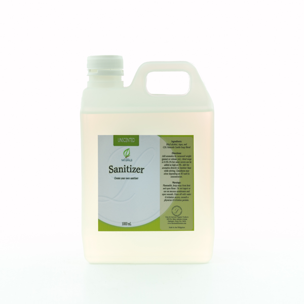 CDL Naturals Unscented Sanitizer Base