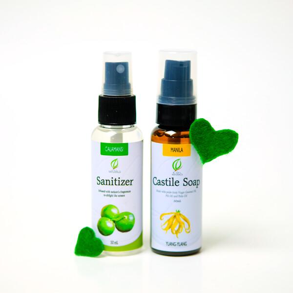 Sanitizer and Castile Soap Bundle