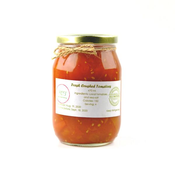 Fresh Crushed Tomatoes