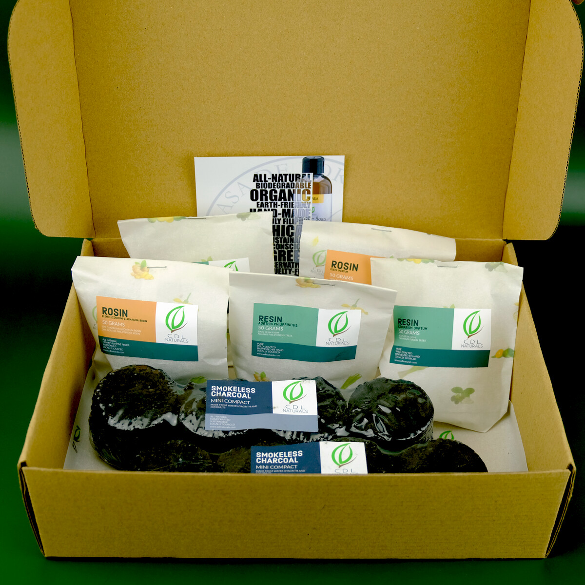 Incense Kit Gift Box