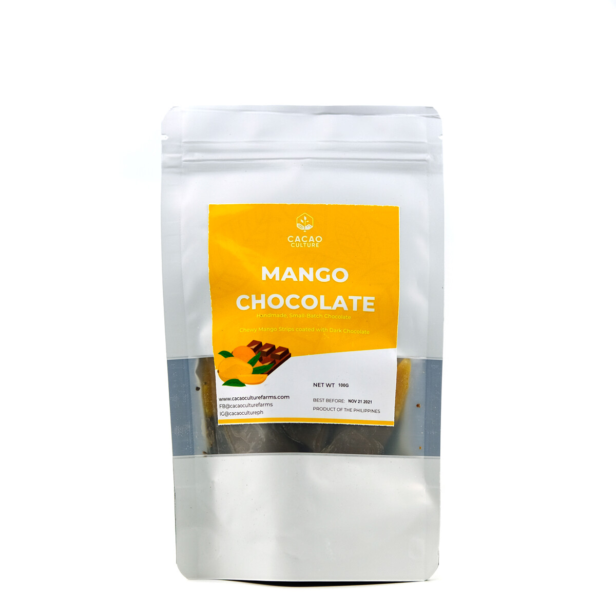 Cacao Culture Chocolate Covered Mango Strips