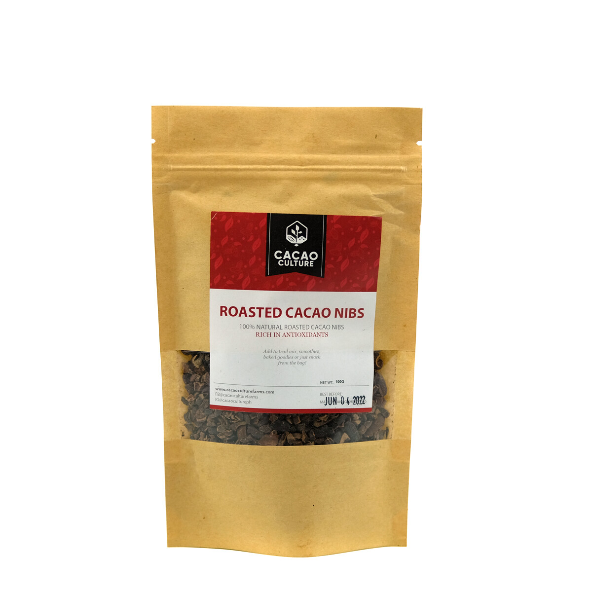 Cacao Culture Roasted Cacao Nibs