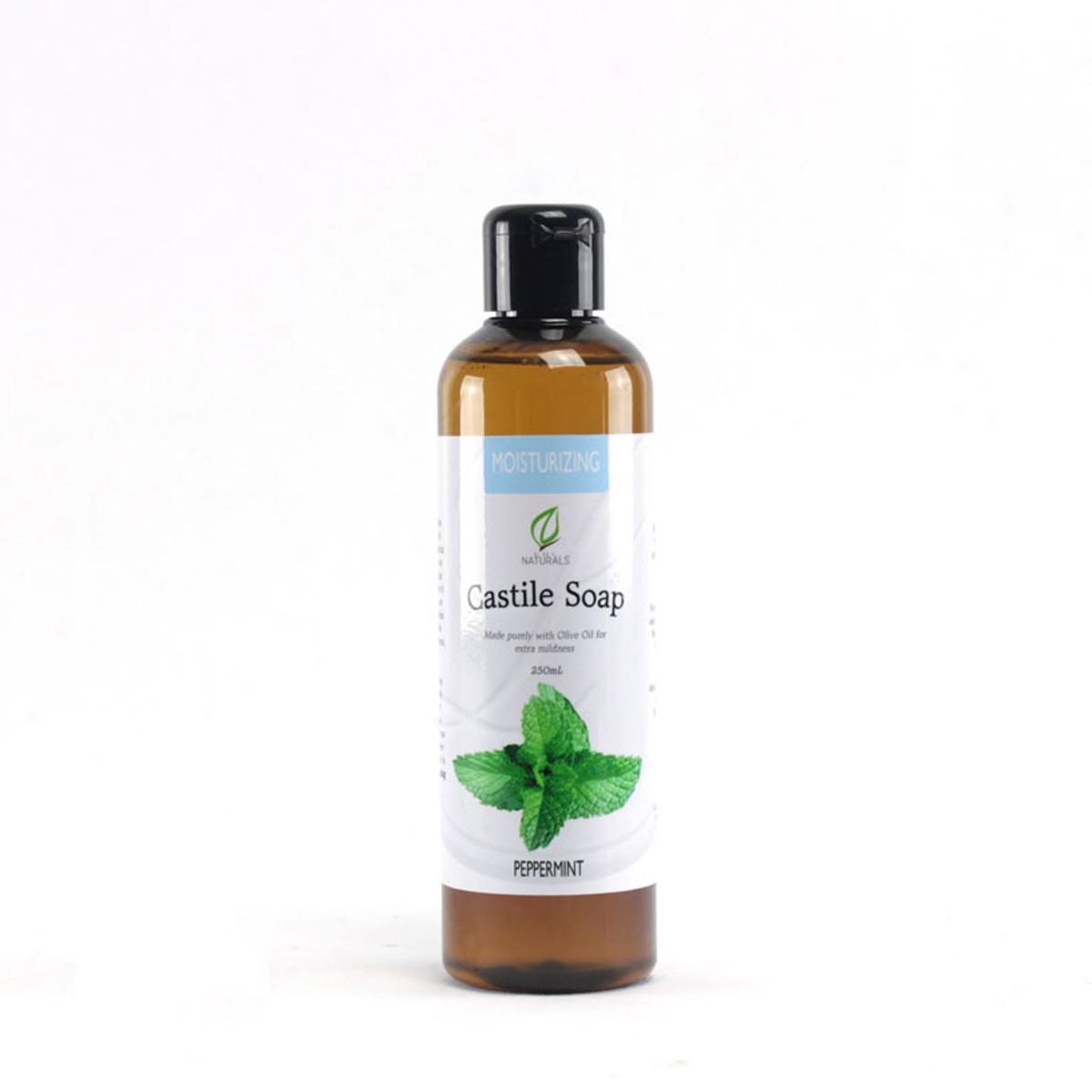 Peppermint Moisturizing Castile Soap