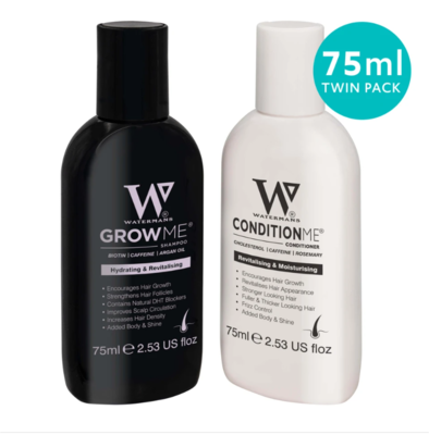 Watermans Mini Set 1x 75ml Shampoo & 1 x 75ml Conditioner