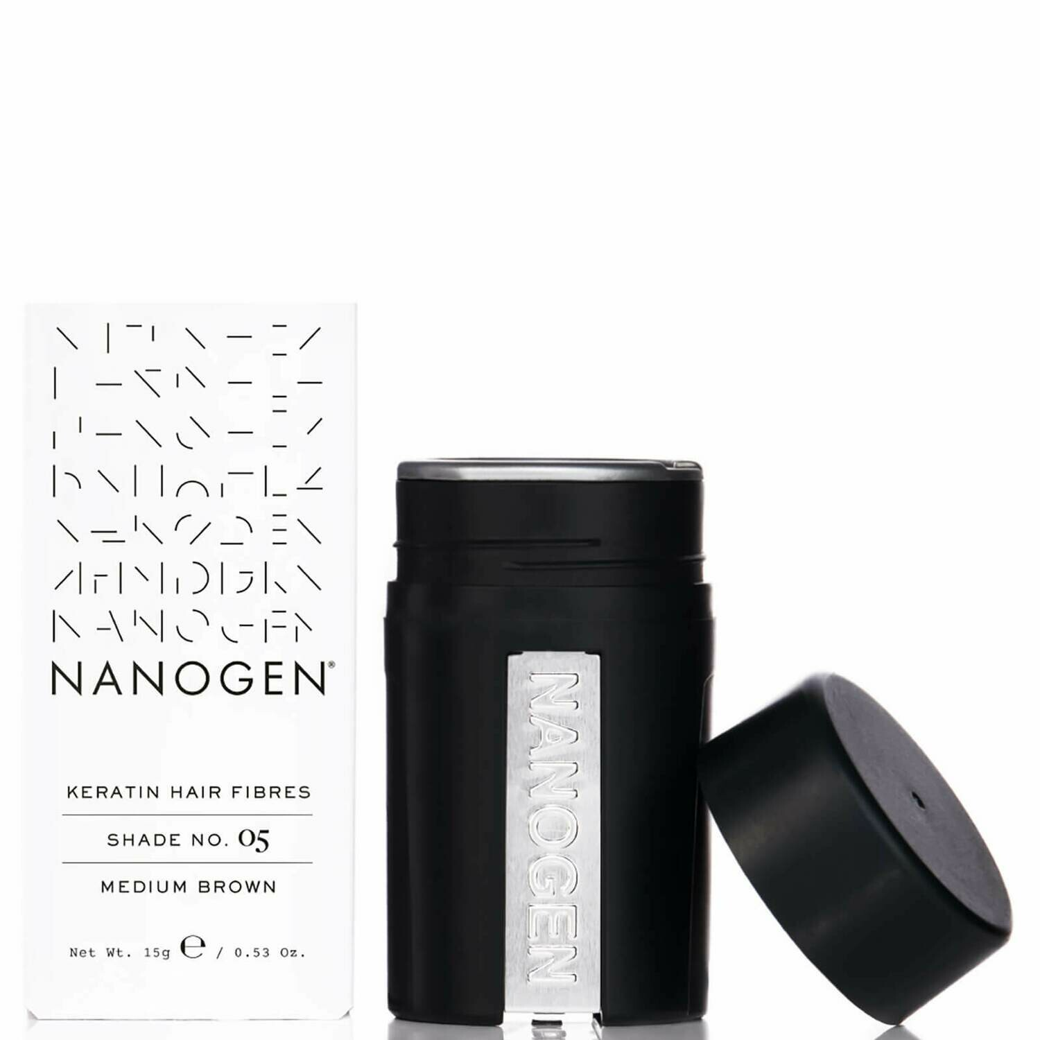 Nanogen Hair Thickening Fibres Dark Brown 15g