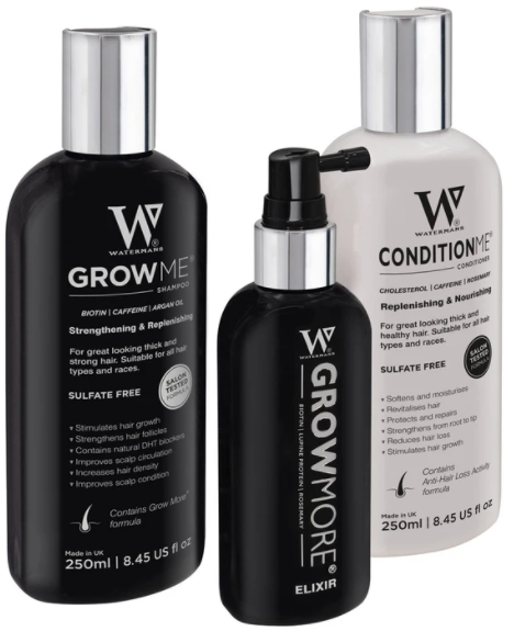 Shampoo and Conditioner set with Elixir Boosting leave-in scalp formula. Price includes shipping