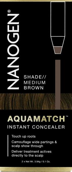 NANOGEN Aquamatch Water Resistant Treatment Concealer Pencils Medium Brown