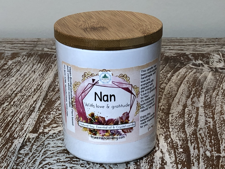 Extra Large Votive Candle- Nan