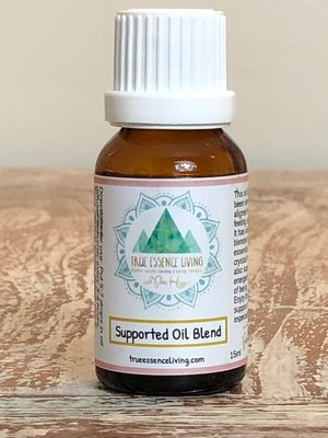15ml Pure Essential Oil Blend- Supported