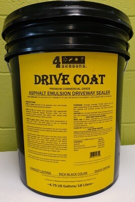 4Seasons DRIVE COAT ASPHALT EMULSION DRIVEWAY SEALER