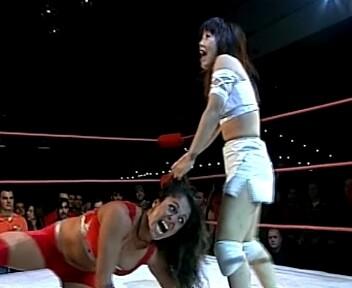 Bloody Ho Ambush - Women's Wrestling Wars  (Female Wrestling Video Download)