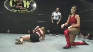 Nadi vs Emily (Women's Pro Wrestling)