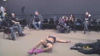 Maria Manic vs Stefan Pennignton (Intergender Pro Wrestling)