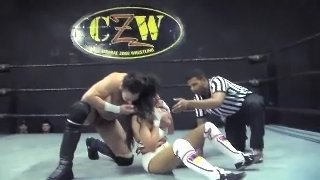 Nadi vs Steven Peña (Inter Gender Professional Wrestling)