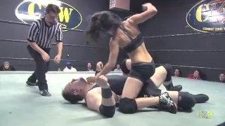 Sam L'eterna vs DJ Hyde (Intergender Pro Wrestling)