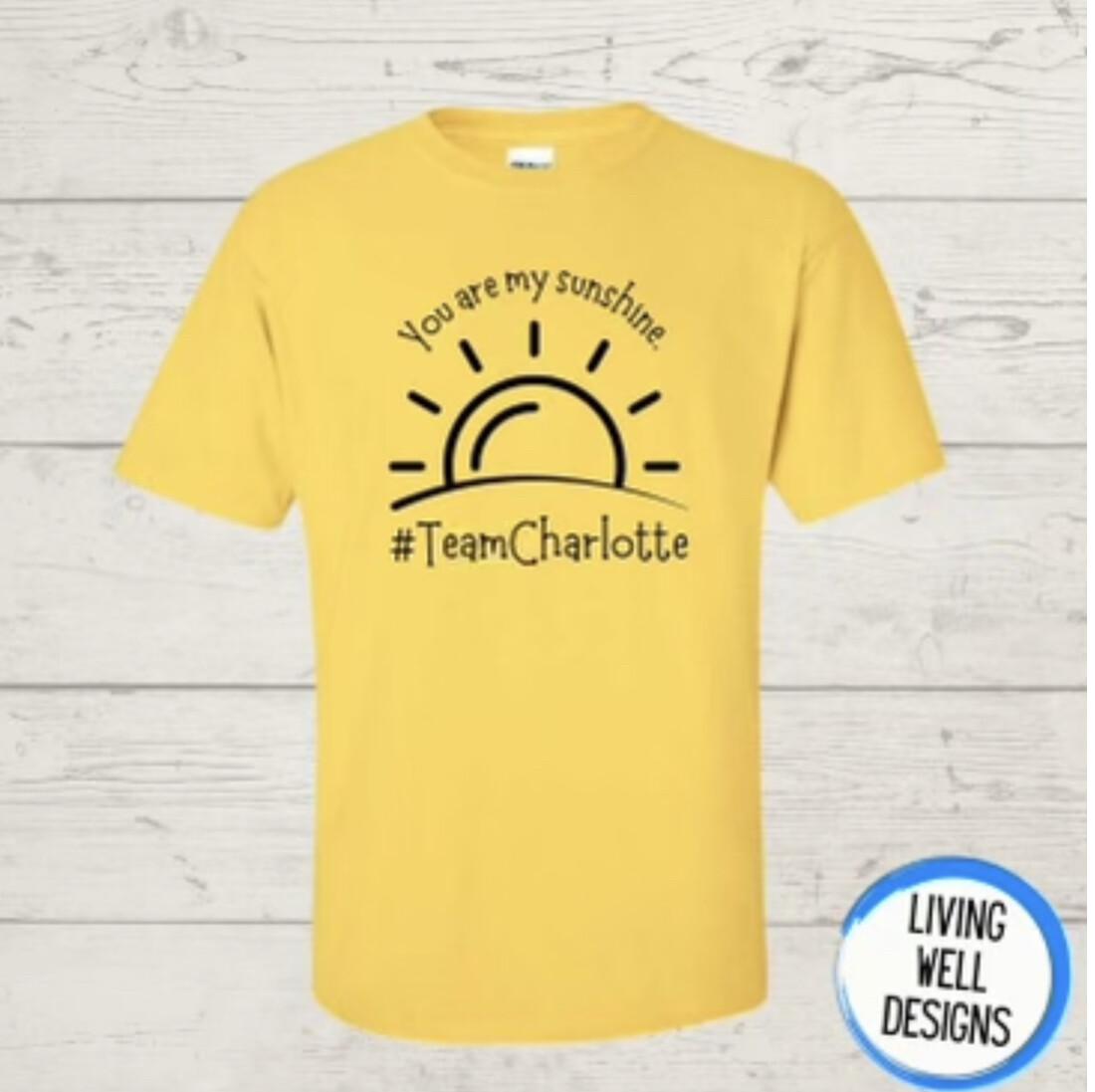 #TeamCharlotte T-Shirt