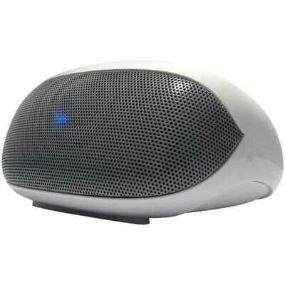 AT&T BTS01-WH LoudSpeak'r Portable Mini Speaker with Bluetooth (White)