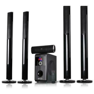 beFree Sound 5.1 Channel Bluetooth Surround Sound Speaker System