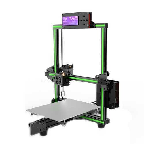Anet® E2 DIY Aluminum Alloy Frame 3D Printer Kit Low Noise 220*270*220mm Printing Size Support Soft Filament Print With Large LCD Screen