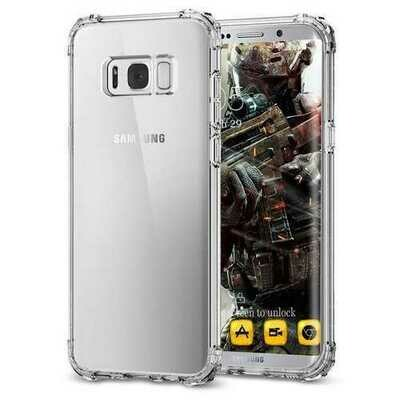 Air Cushion Corners Transparent TPU Case For Samsung Galaxy S8
