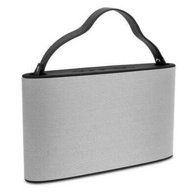 Cipe Handbag-Style Bluetooth Wireless Speaker & Powerbank, Sliver
