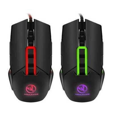 MOYUKAXIE S400 3200dpi Adjustable USB Wired LED Backlit Gaming Mouse