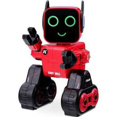 K3 Programmable Touch & Sound Control Piggy Sing Dance Robot-Red