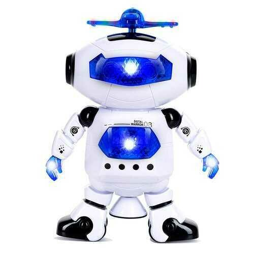 "10"" Walking & Dancing RC Robot w/ Music"