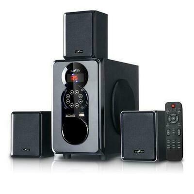 beFree Sound 3.1 Channel Surround Sound Bluetooth Speaker System
