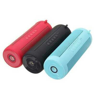Portable IPX7 Speaker Waterproof Wireless bluetooth Speaker Mini Column Box Speaker With Flashlight