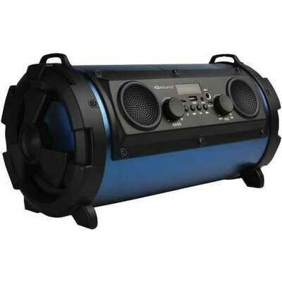 Supersonic IQ-1525BT-BL Wireless Bluetooth Speaker (Blue)