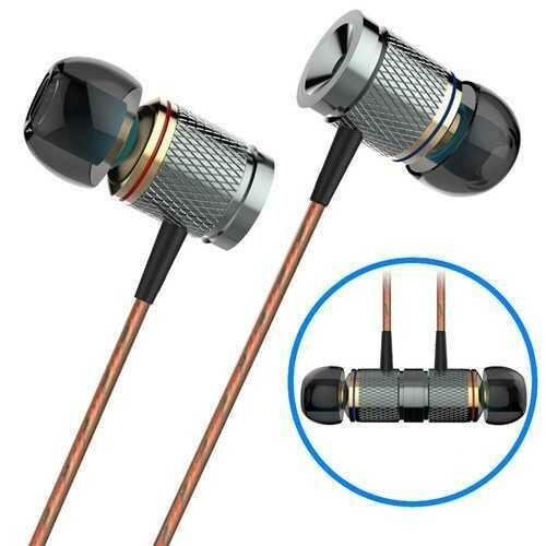 PLEXTONE X53M Magnetic Adsorption 3.5mm Jack Heavy Bass Earphone Headphone for iPhone Samsung Xiaomi