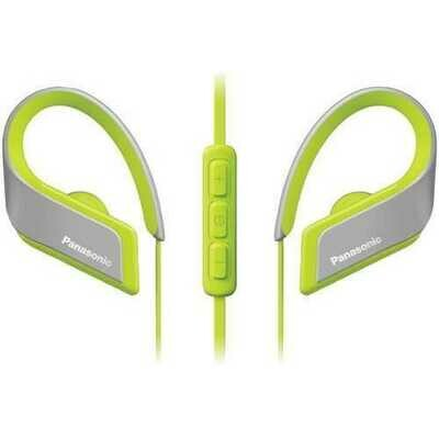 Panasonic Wings Ultralight In-ear Sport-clip Earphones With Bluetooth (yellow) (pack of 1 Ea)