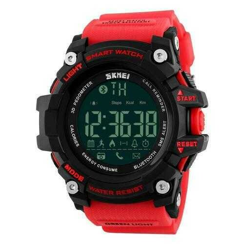 SKMEI 1227 bluetooth Smart Watch Call Message Notification Pedometer 50M Waterproof Sports Watch