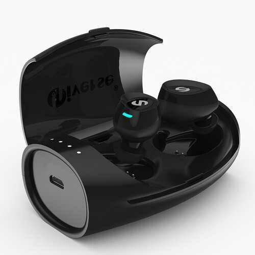 [Truly Wireless] TWS Mini Dual bluetooth Earphones Noise Canceling Headphones with Charging Box