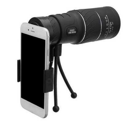 16*52 Single-hole telescope Gadgets Camera Lens For iPhone Xiaomi Huawei